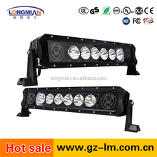 Single Row color change CRE E 6pcs*10w 60W halo led light bar