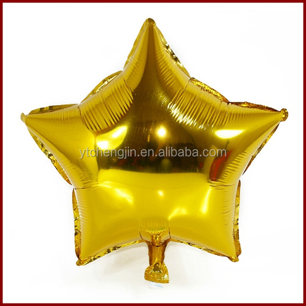 star shaped helium flying foil balloons in bulk wholesales