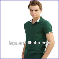 dark green men's polo t shirt high quality fake polo t shirt new style polo t shirt