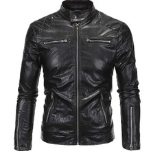 Hot Promotional Classic Leather Trench Sheepskin Coat For Man
