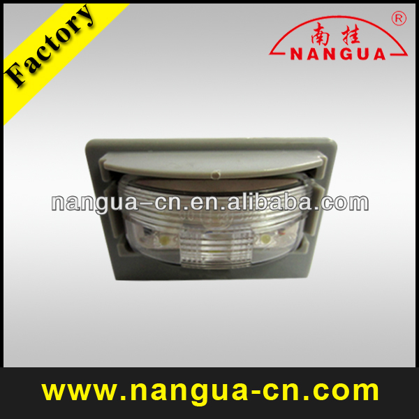 universal car/auto LED license/number plate light/lamp