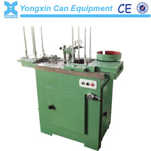 Paint tin can cover glue filling machine