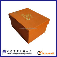 China made printing custom wholesale hard drive packing box