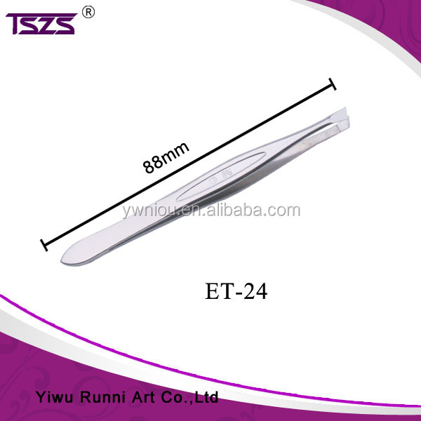 stainless steel tweezers eyebrow extension kit