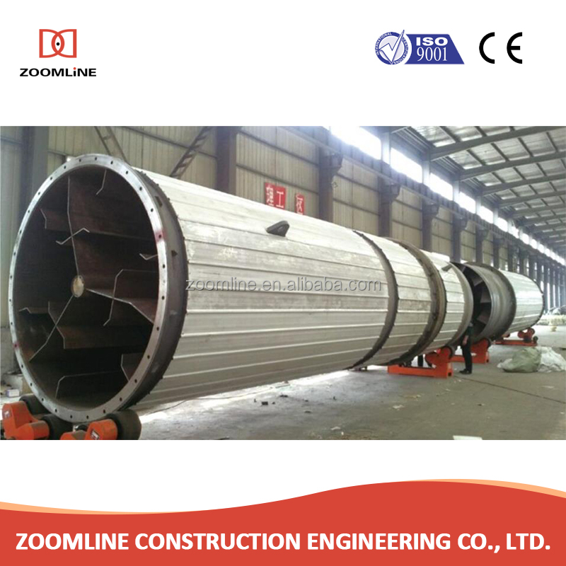 Widely used cheap price limestone rotary drum dryer