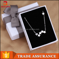 2015 best selling brand jewelry 925 sterling silver trendy charm star necklace