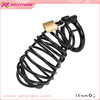 JNS-23440 Stainless steel penis cage cock sex toys&chastity cock cage