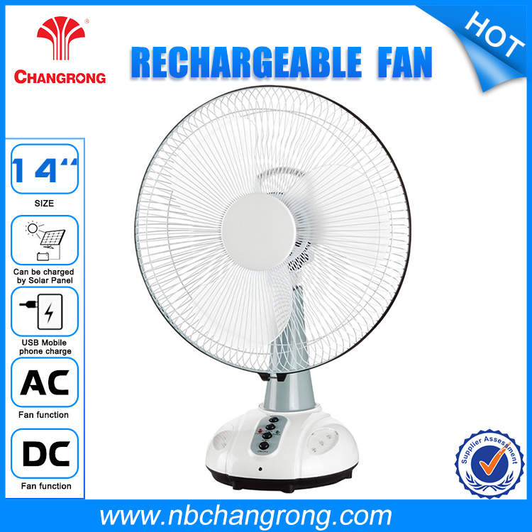 Hotsale Execlusive Design Rechargeable Ceiling Fans with Remote Control