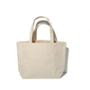China manufacturer customized blank canvas beach tote bag
