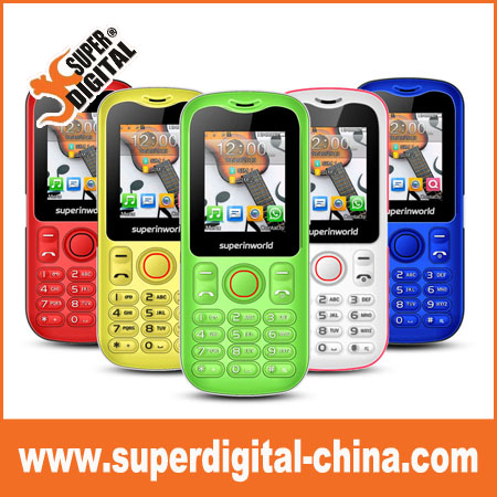 1.8 inch factory low price dual sim gsm feature mini phone for South America