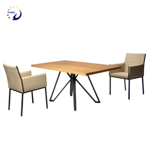 hot sale home furniture heavy 8 seater square dining tables wood