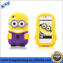 for iphone 5c minions silicone phone case