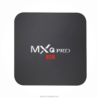 MXQ PRO Android 7.1 4K Amlogic S905X 2GB RAM 16GB ROM Android TV Box with Wifi and bluetooth