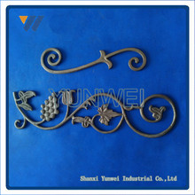 Style Beautiful Antique Iron Balustrade Patterns/Wrought Iron Railing Panels