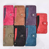 Latest card slot mobile leather phone case for huawei y635