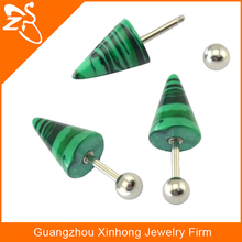 Unique tragus jewelry, Acrylic cone tragus ear piercing jewelry,Eye logo cartilage piercing jewelry