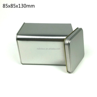 Alibaba china high quality/wholesale colorless square metal tea tin boxes/cans