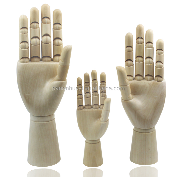 Wholesale <strong>wooden</strong> mannequin hand model