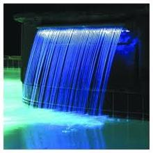 2014 new design colored water fall light programmable christmas lights