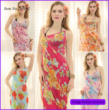Wholesale New Fashion Custom Made Beach Pareos And Sarongs