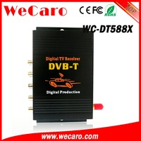 Wecaro WC-DT588X mpeg-4 car dvb-t tv tuner receiver box for Poland