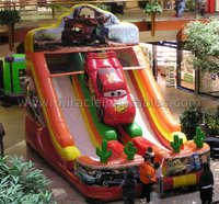 Popular toy car slide,inflatable dry slide,slide for sale M4038