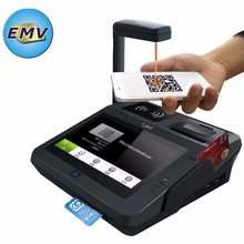 Cashless Payment Android POS Terminal For EMV Chip /Quikcash /MasterCard/Visa Card Payment