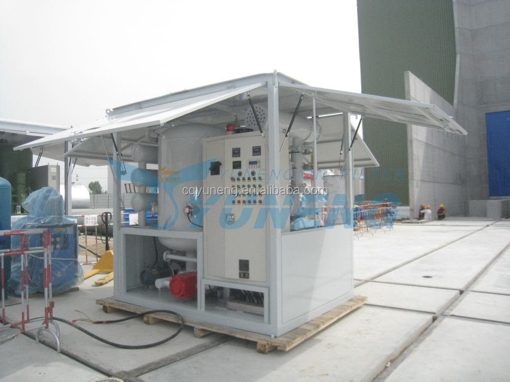 Double Stage High Vacuum Transformer Oil Centrifuging Machine for 66KV to 500KV Power Transformer