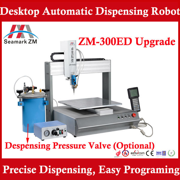 High Performance ! Automatic frame glue dispenser ZM-300ED for mobile phone and tablet frame sealing