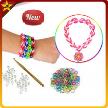 children gift new designs silicone DIY loom bands