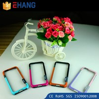 Mobile accessory round edge 0.7mm deff cleave metal bumper case for iphone 5