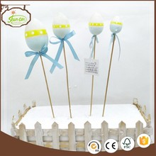 4 different size easter best selling products garden stick egg decoration