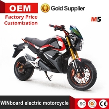 WINboard M5 80km speed cheap price lead battery electric motorized motorcycle with high quality