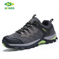 High quality leather Outdoor Shoes men Leather hiking most durable shoes