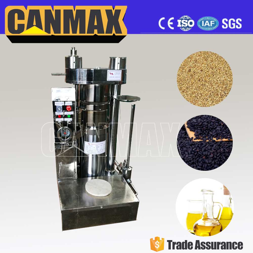 China factory manufacturer peanut hydraulic oil press machine/power saving sesame oil press for sale