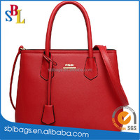 Alibaba China PU Leather MK designer women handbags