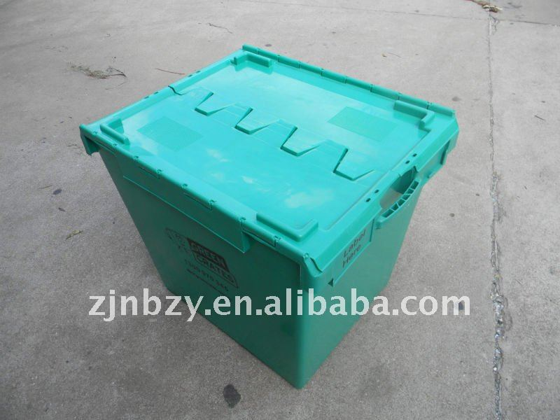 Plastica Heavy-duty Stackabl Moving Crate