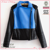factory garment manufacturing ladies fashion winter leather clothing jacket for girls
