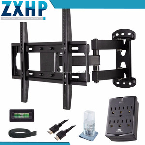 Dvd shelf wall furniture led lcd tv 18 inch movable tv wall mount swivel Tv Wall Mount