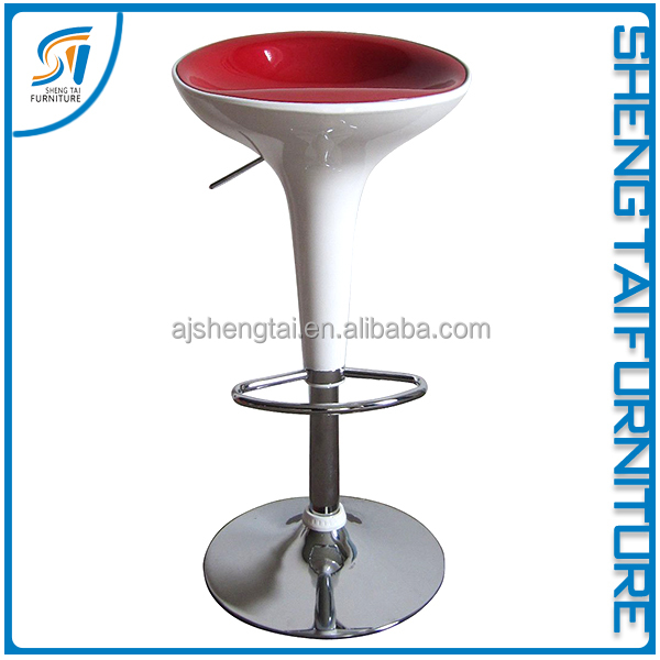 Wholesale modern swivel ABS antique bar stool