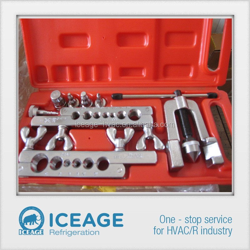 CT-2000 double flaring tool with five swage adapter