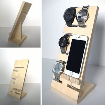 night stand organizer for phone and watch