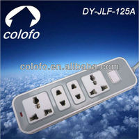 10Amp universal multiple outlet power strip