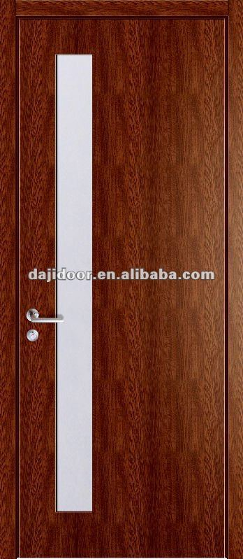 Modern Melamine Office Doors Glass Inserts DJ-P065