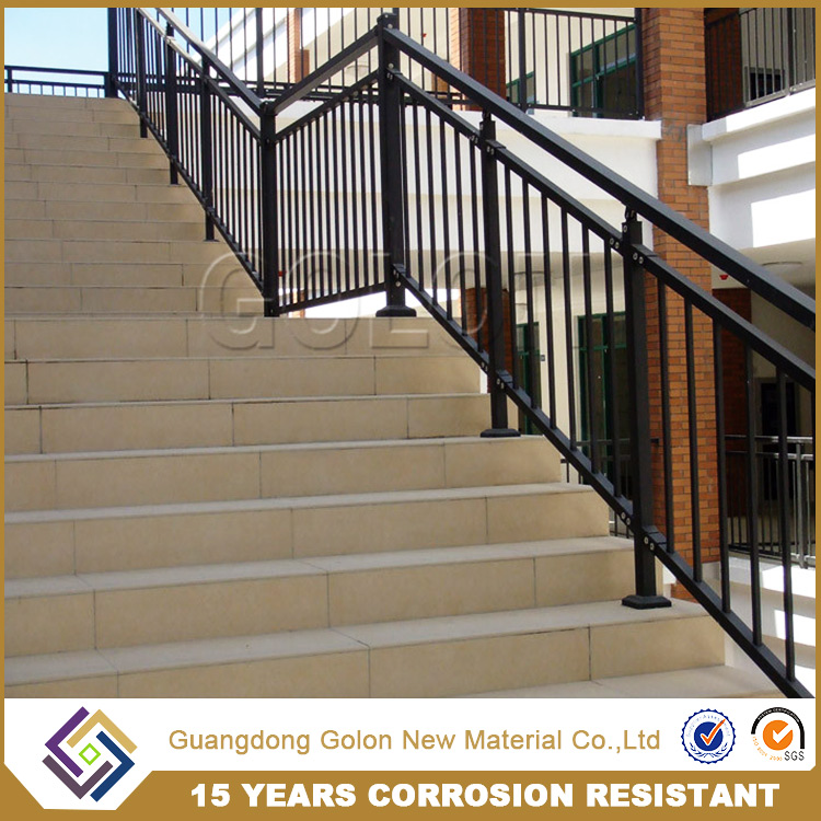 exterior/internal clear stainless steel stair handrail