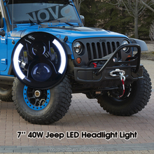 Multifunction CE ROHS E-Mark DOT SAE IP67 Jeep Wrangler Led Headlight