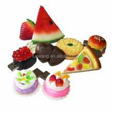 Hot Sale Customed foods shape usb, food shape PVC / Silicon / Rubber USB Flash Drive
