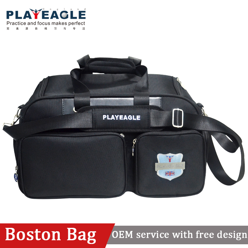 Nylon Golf boston bag golf travel clothing bag with embroidery logo