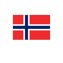 Norway world national custom fabric swing flags banners advertising