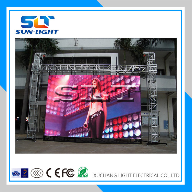 Hot selling Waterproof P10 outdoor Full color LED Display screen for advertising leds panel